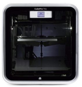 cubepro trio 3d printer review