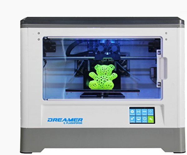12. Flashforge Dreamer - Best 3D Printer For the Money