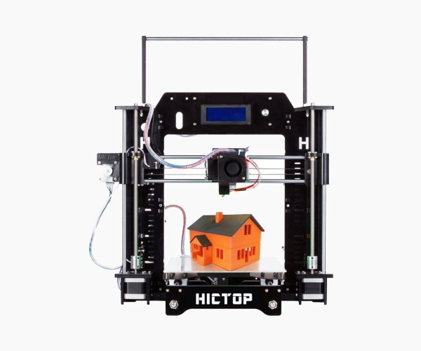 11. HICTOP Prusa I3 - Best Cheap Desktop 3D Printer