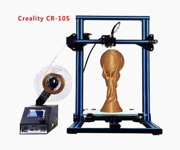 2. HICTOP CR-10S 3D Printer - Best Affordable 3D Printer for Miniatures