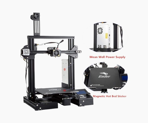 Features of the Creality Ender 3 3D Printer